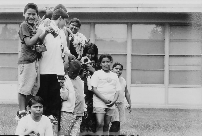 Class photo, Ortega Elementary School, Austin, TX