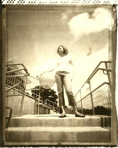 P4 workshop- Polaroid/Pinhole/Platinum/Palladium, Saint Andrews High School, Austin, TX