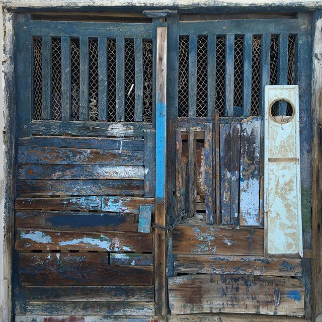 This door. #bluehues #happysaturday