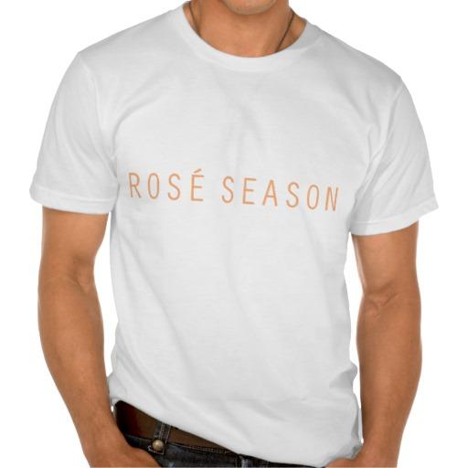 ROSÉ SEASON MEN'S TSHIRT - $29.95