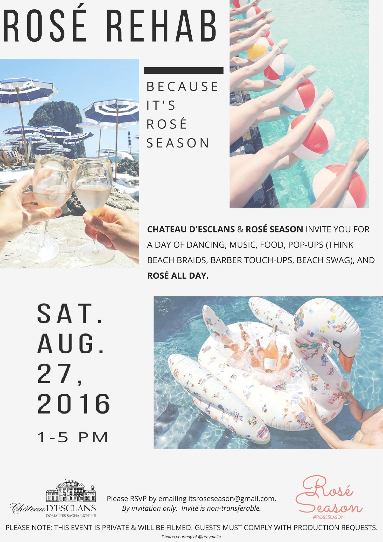 Rosé Rehab General Invitation - Aug 27, 2016.png