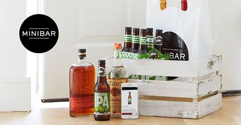 Minibar Delivery - The best way to buy wine, liquor and beer online.Delivery available within the hour!