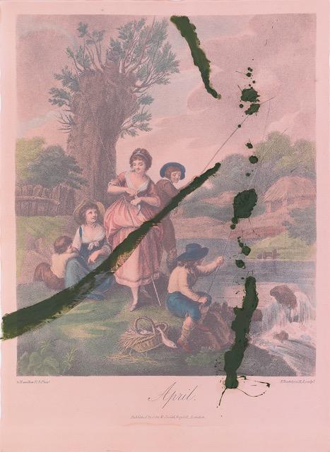 """""""April,"""" by Julian Schnabel"""