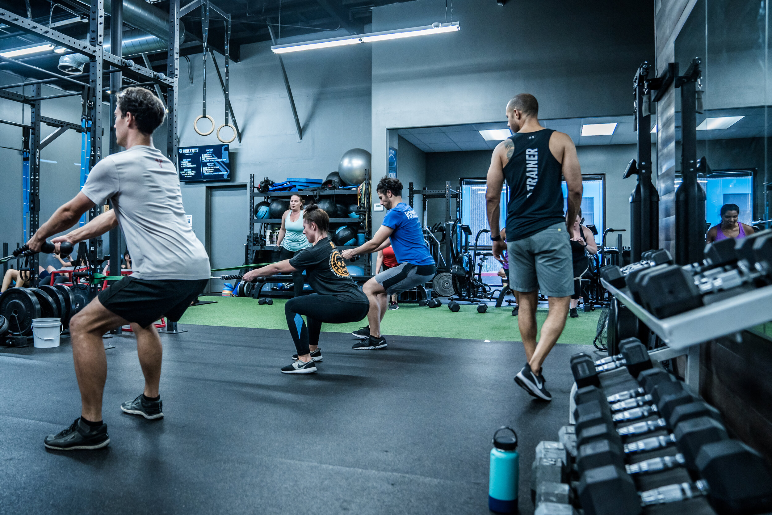 Train to be Unbreakable in our 30+ training classes each week -