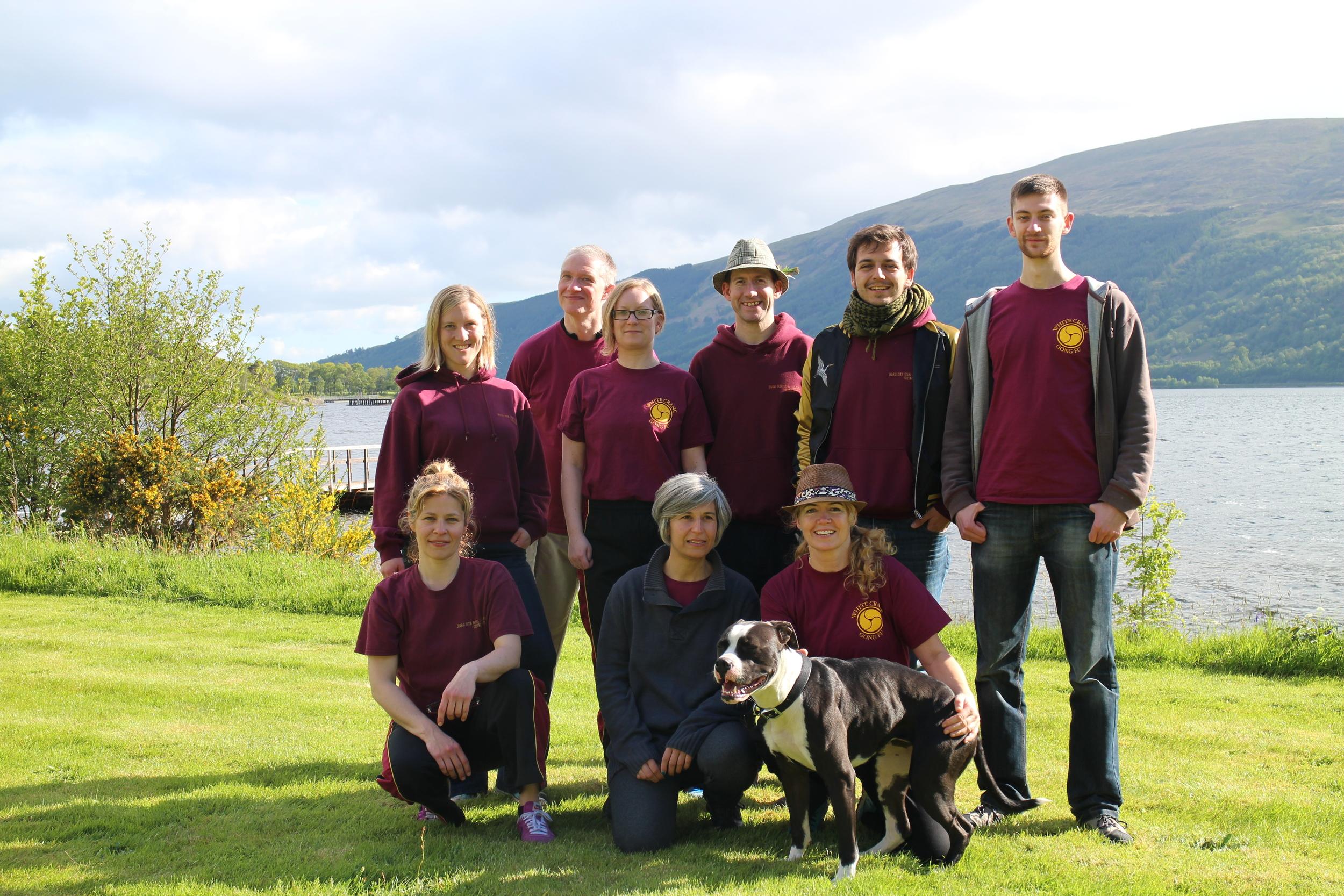 2015 White Crane Retreat Team