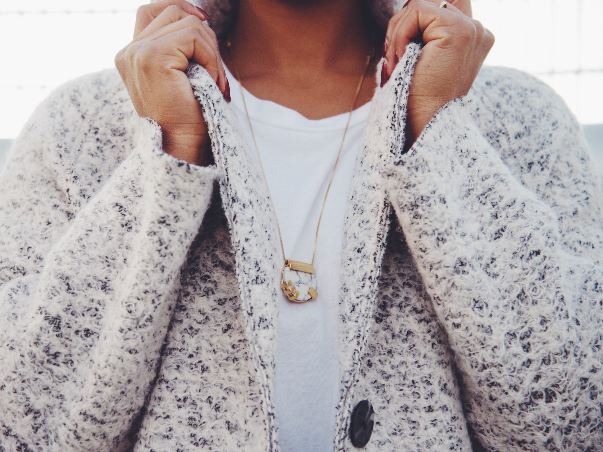 Necklace: Madewell