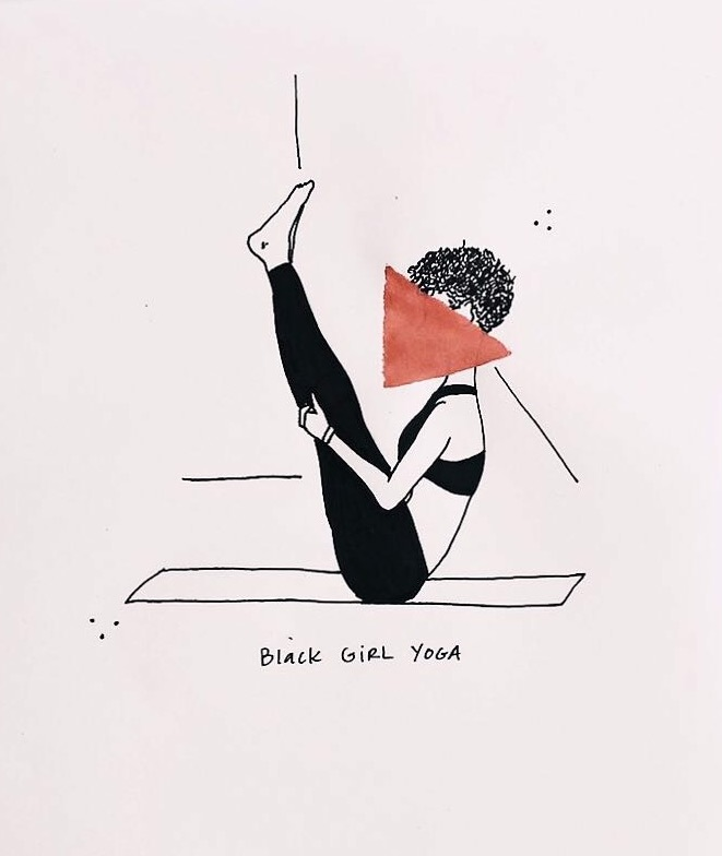 """ Black Girl Yoga"""