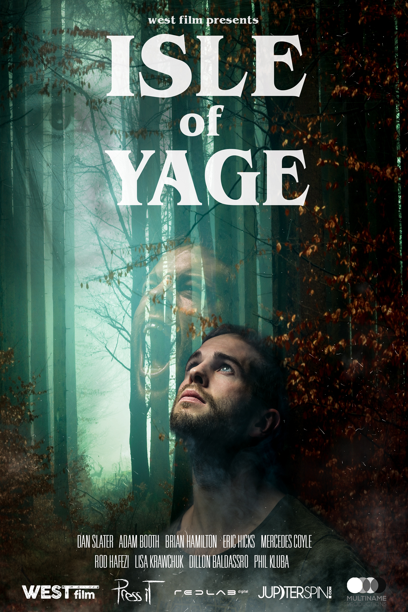 Isle of Yage  - Psychological Thriller (Feature Length)Written By: Adam Booth, Dan Slater, Mercedes CoyleBudget: 1MA group of strangers travelling in Costa Rica seek a transcendent experience through the drug, Ayahuasca. But once they look inside themselves there is no turning back.