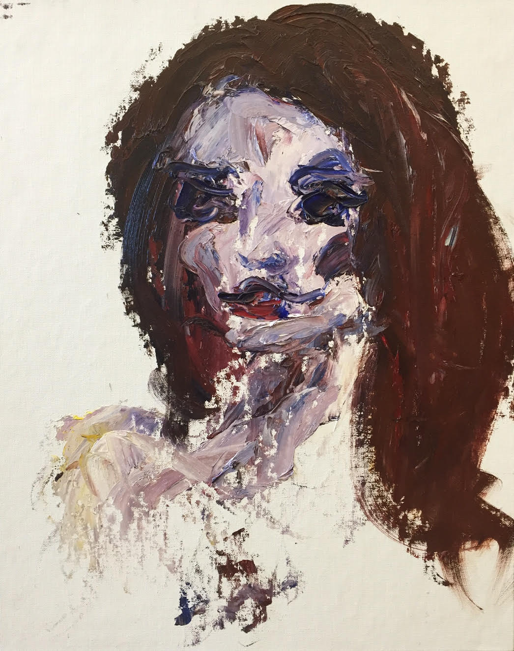 Study with a Palette Knife 1 Lydia Hope Samson