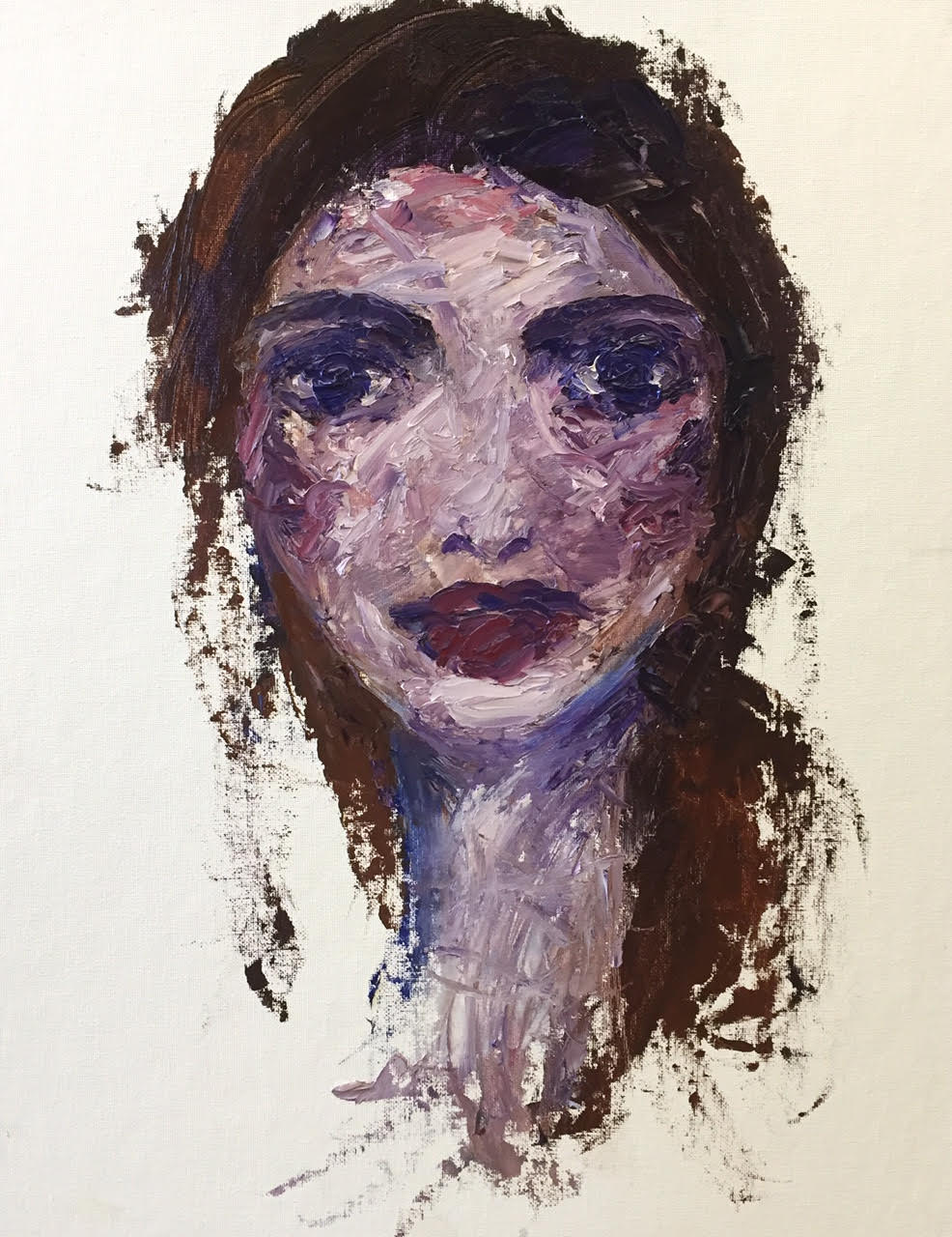 Study with a Palette Knife 2 Lydia Hope Samson