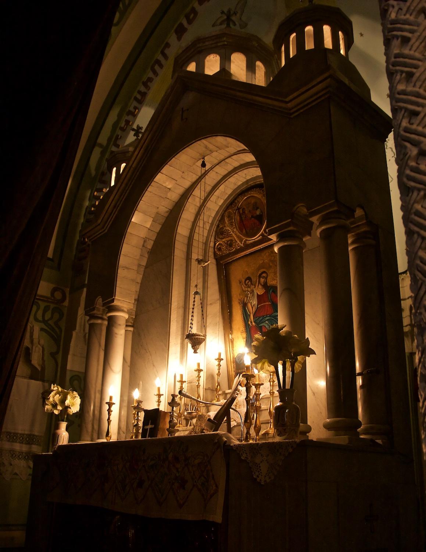Syriac Catholic Monastery of Saint Moses - Apse and Altar