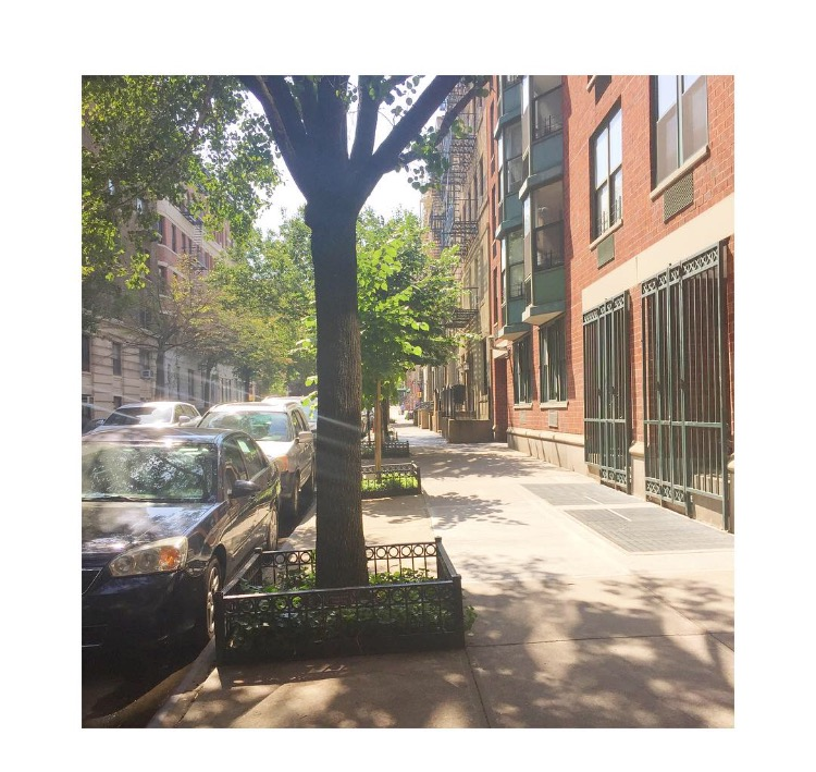 @redbeana81st between Amsterdam and Broadway. The one of many blocks I walked that night 2/8/2016 #makingplaceuws #loss
