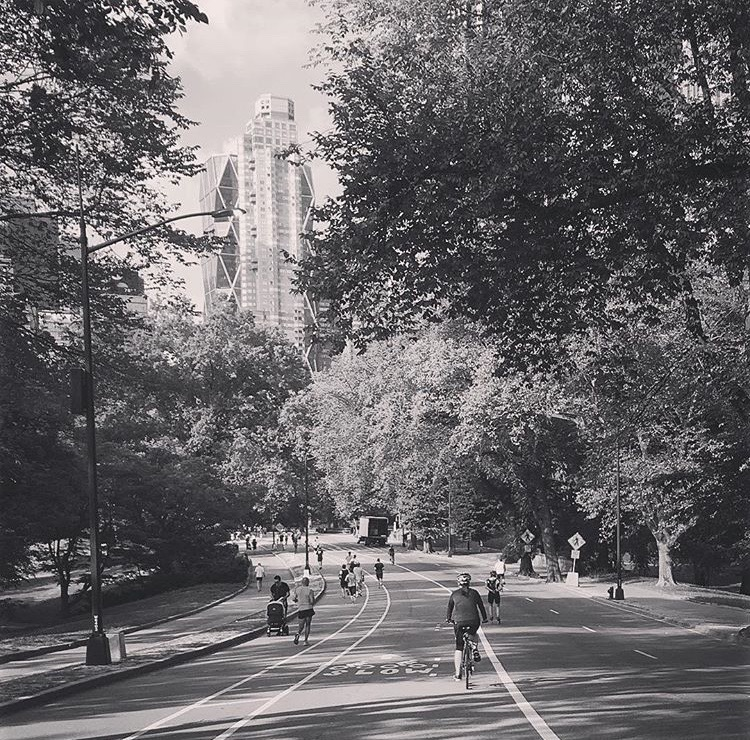 @celinerachelleLove Saturdays in Central Park. Living amongst beautiful NYC parks brings me so much #joy #makingplaceuws