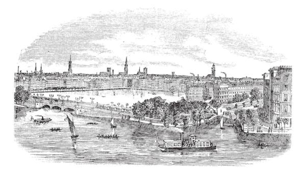 Hamburg (1800s) ©Patrick Guenette