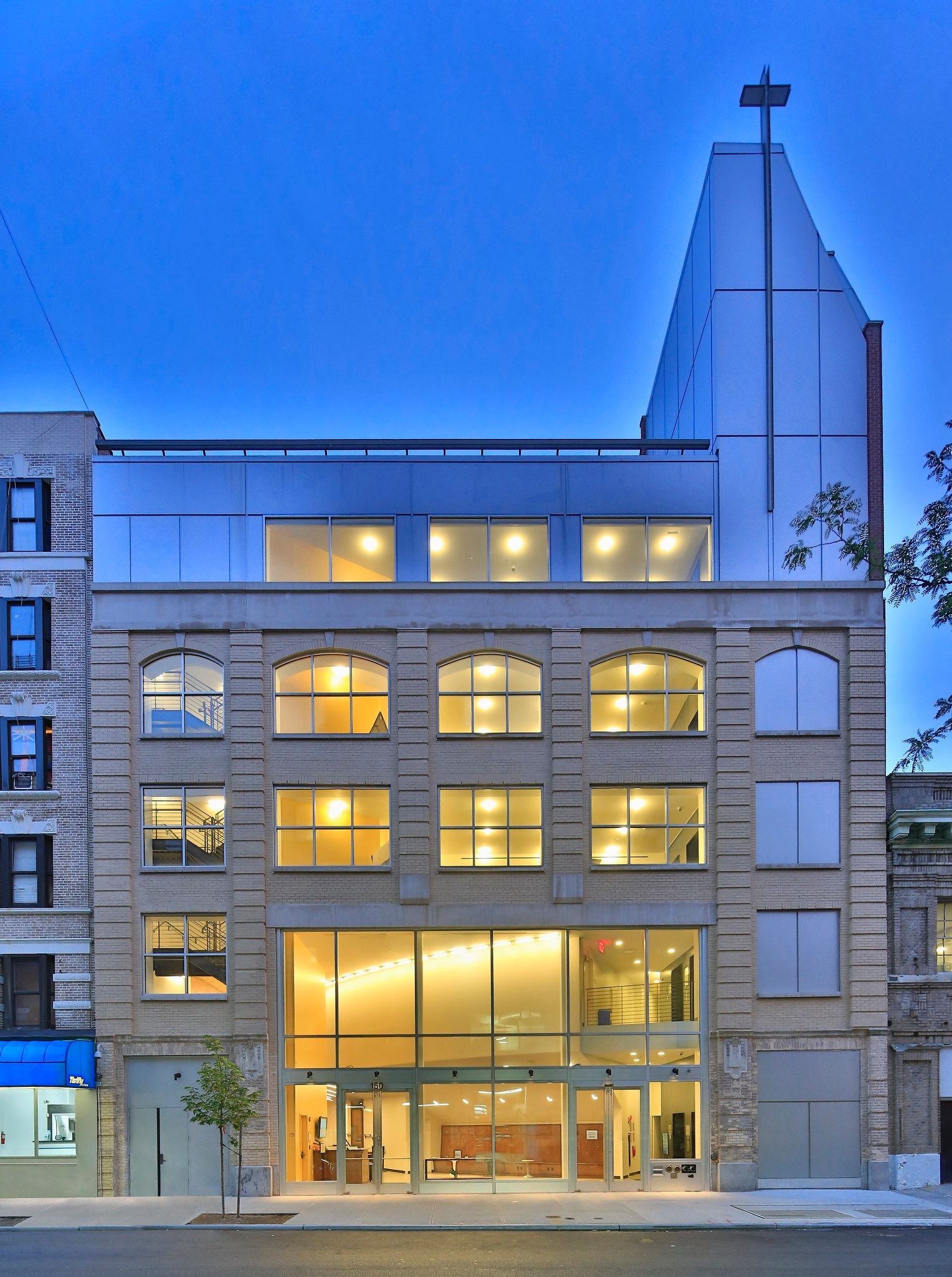 W83 Ministry Center serves the Upper West Side with a large theater space, classrooms, meeting rooms, a beautiful loft, and one of the only art galleries in the neighborhood.