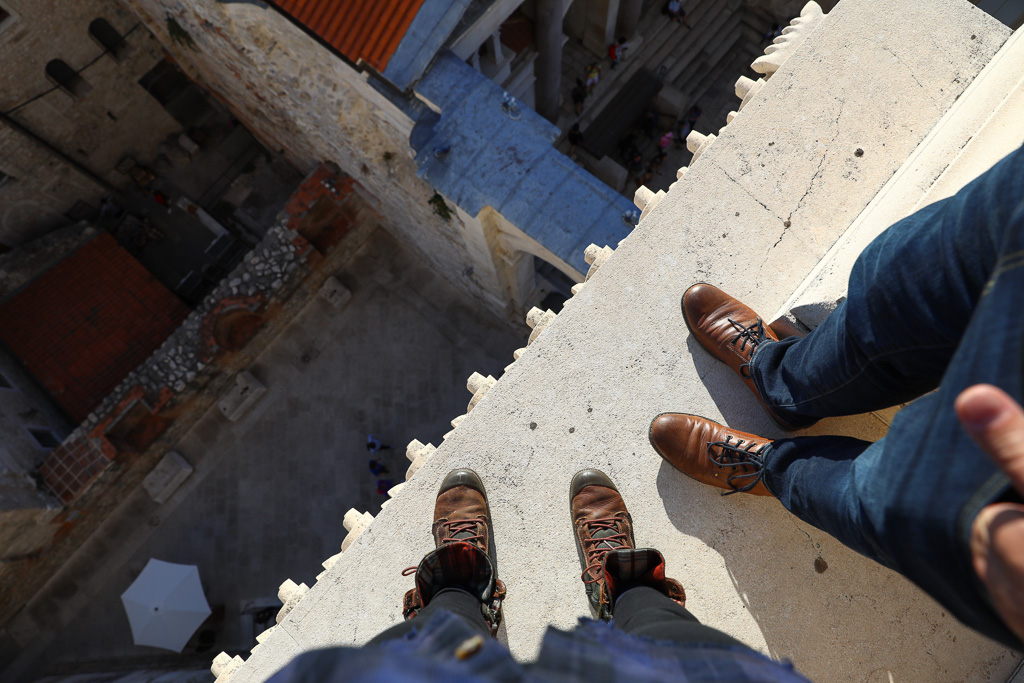 I am happy to have a partner that is willing to stand on the edge with me -    THE BELLTOWER
