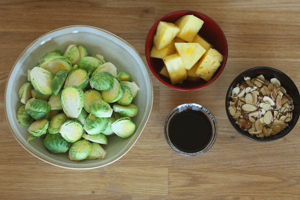 Charred Brussels Sprouts Ingredients