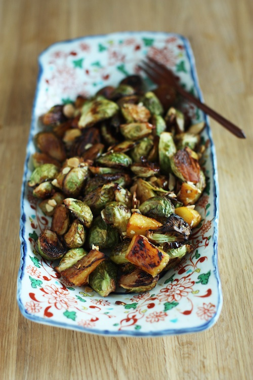 Charred Brussels Sprouts with Pineapple 1