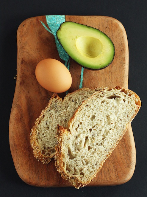 Fried Egg Sandwich ingredients