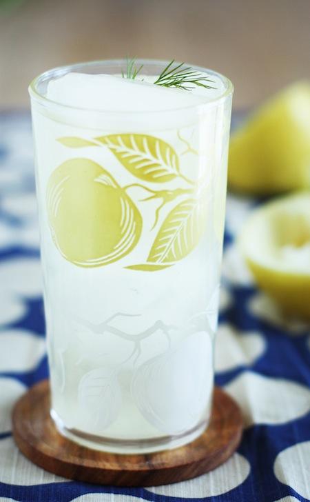 Cucumber Dill Adult Lemonade