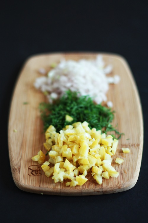 Preserved Lemon Relish Ingredients
