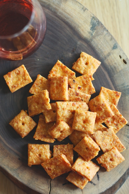 Smokey Cheese Crackers from Scratch