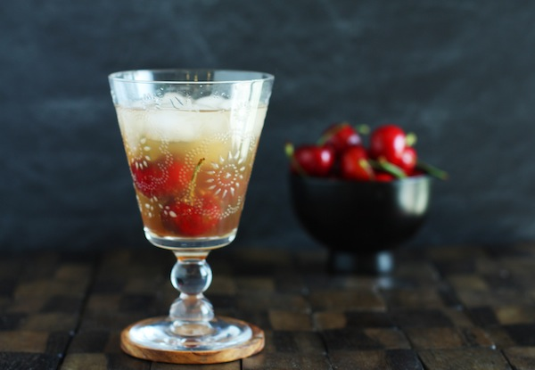 Cherry Vanilla Cocktail