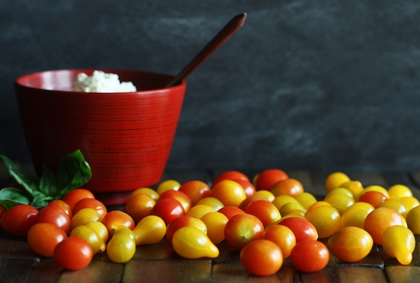 Cherry and Pear Tomatoes