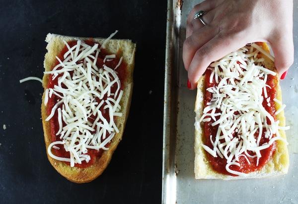 Prepared French Bread Pizzas