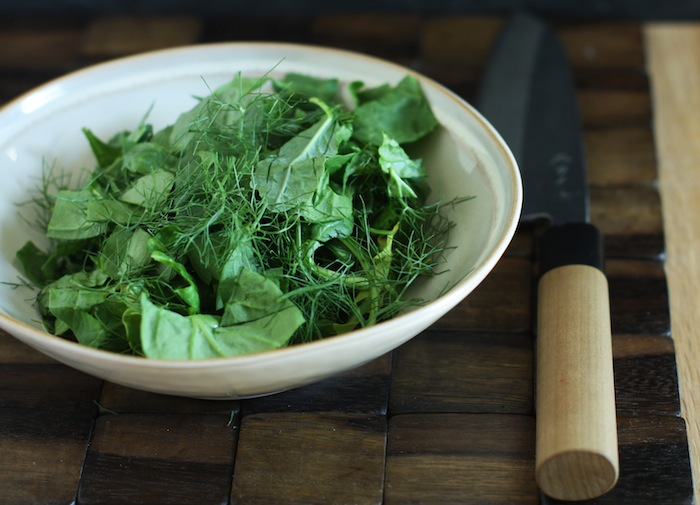 How To Use Up Your Greens