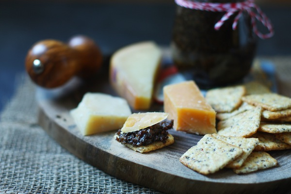 Bacon Jam & Cheese Plate