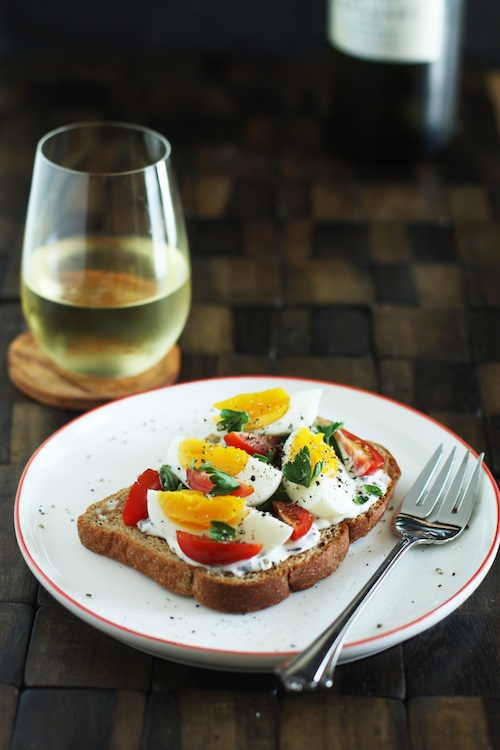 French Tartine Recipe :: Set the Table