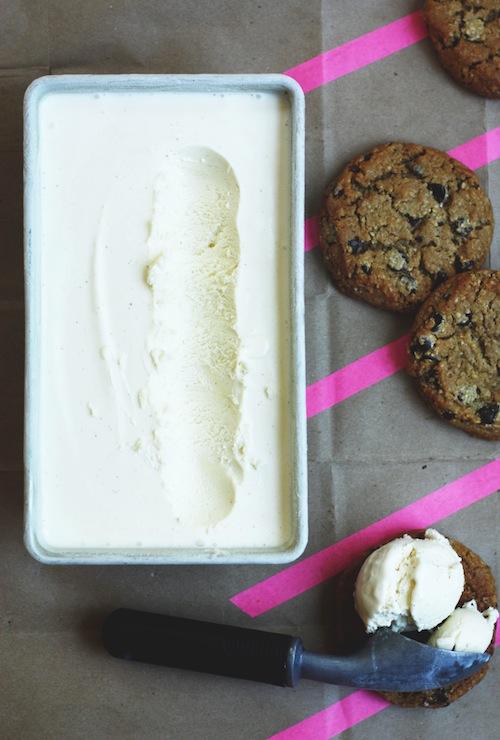 Cream Cheese Ice Cream :: Set the Table