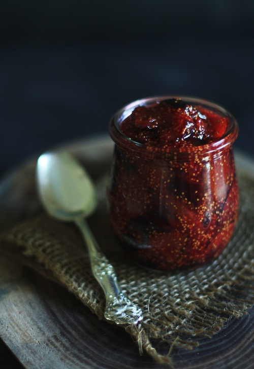 Fig Jam with Rosemary & Vermouth :: Set the Table