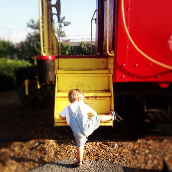 Toddlers and Trains // Set the Table