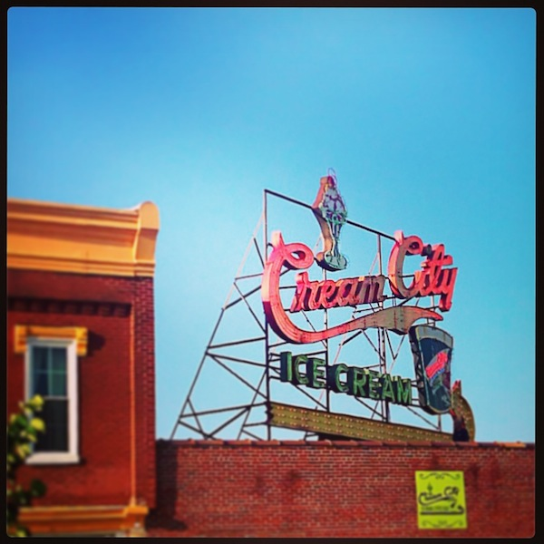 Cream City Ice Cream. Cookeville, Tennessee // Set the Table