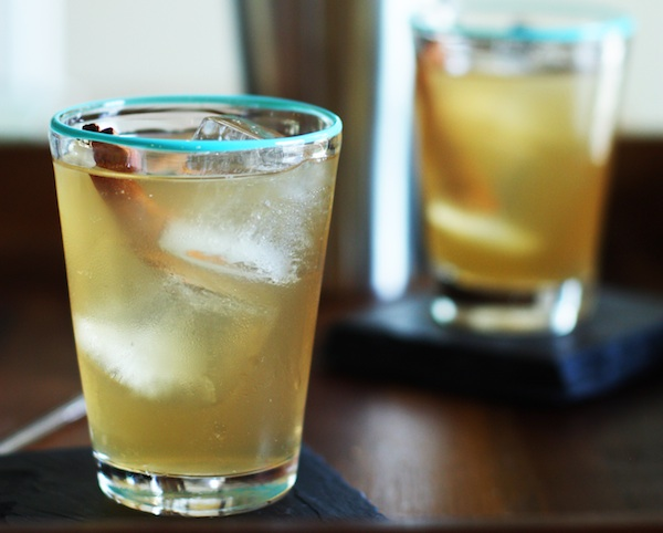 Ginger Spice Rum Punch Recipe :: Set the Table