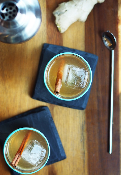 Ginger Spice Rum Punch for National Rum Punch Day :: Set the Table