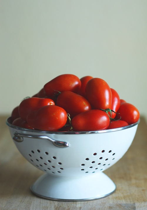 Homegrown Roma Tomatoes :: Set the Table