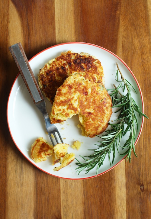 Savory Corn Pancakes :: Set the Table