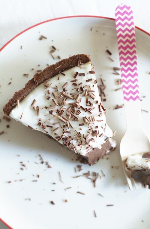 Haupia Chocolate Tart | Set the Table