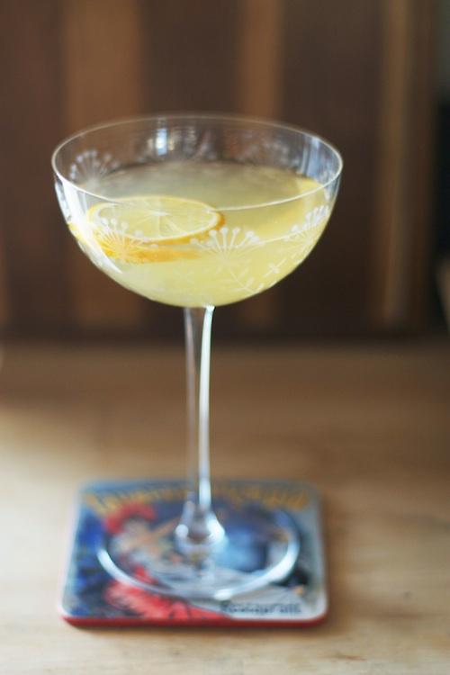 Meyer Lemon Vanilla Gimlet | Set the Table