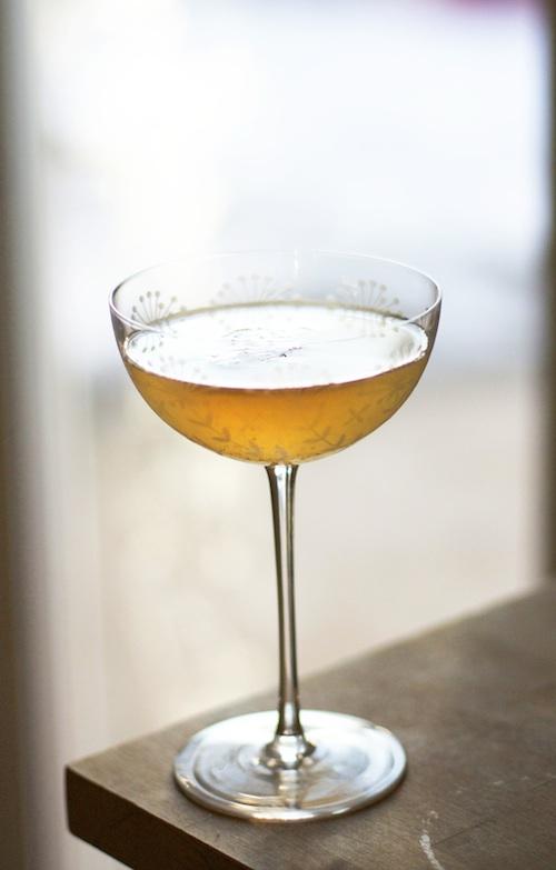 Meyer Lemon & Vanilla Gimlet | Set the Table