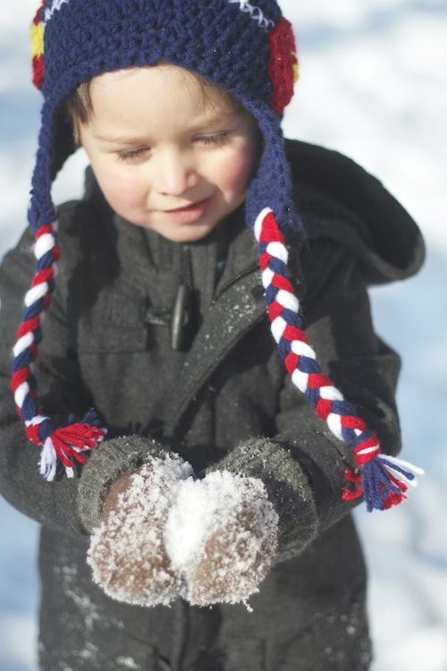Riley in the Snow Dec 2013