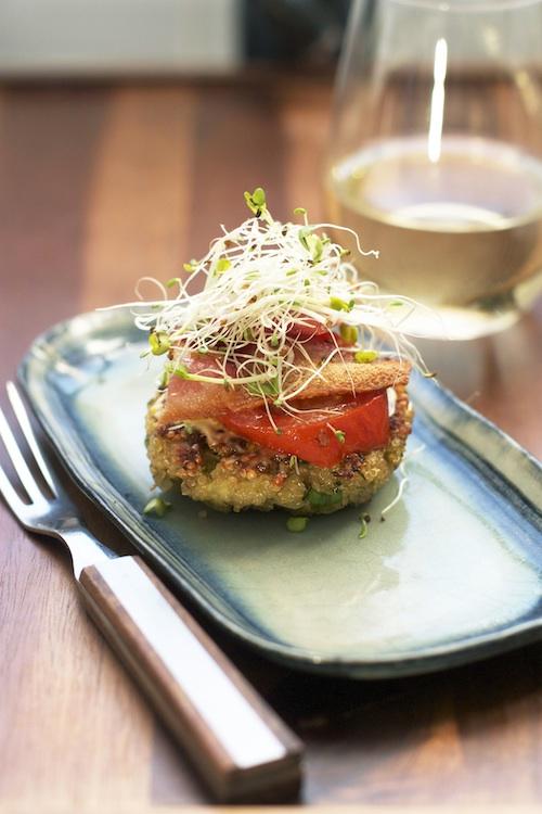 BLT Quinoa Patties | Set the Table