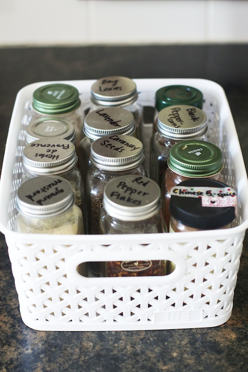 Spice Jar Labeling | Set the Table