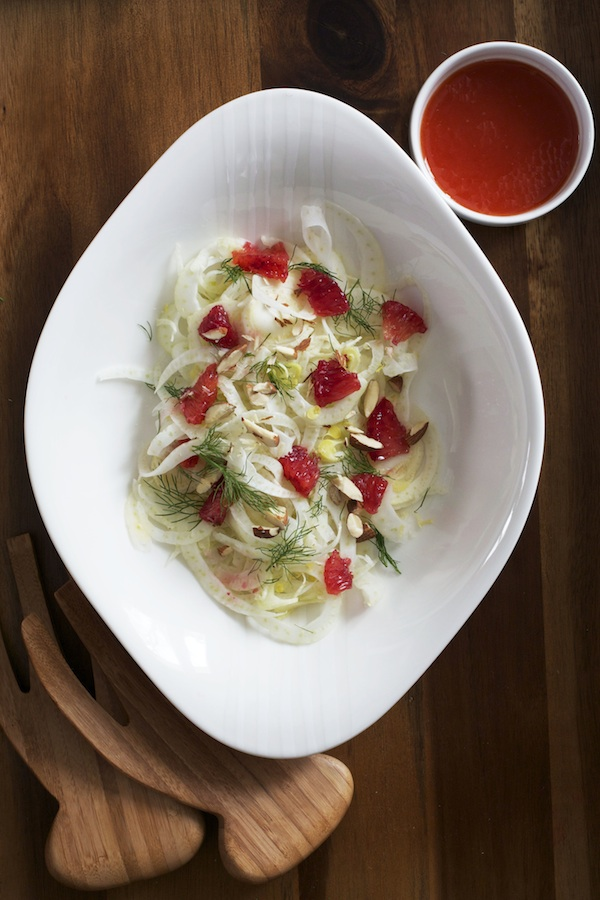 Fennel & Blood Orange Salad | Set the Table
