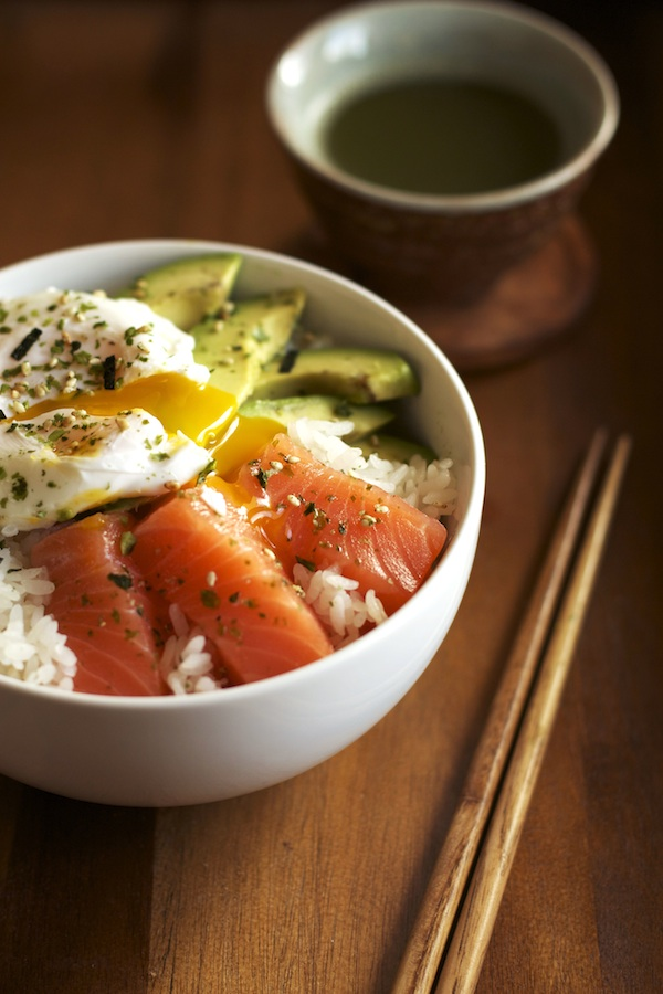 Salmon Donburi | Set the Table
