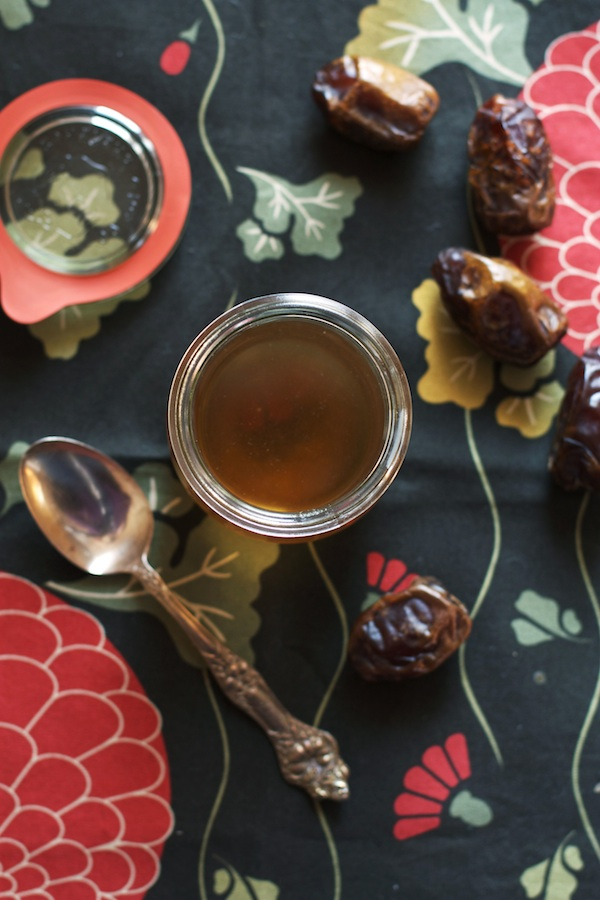 Date Simple Syrup | Set the Table