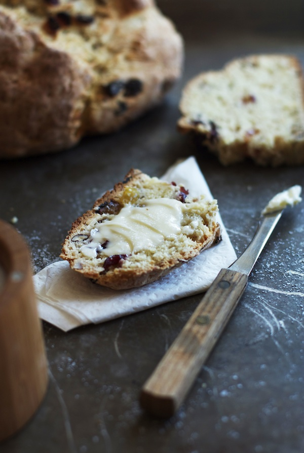 Irish Soda Bread with Dried Fruit & Nuts   Set the Table